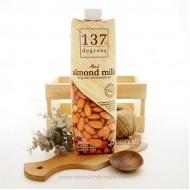 137 Degrees Real Almond Milk Original Unsweetened 1L