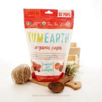 YumEarth, Organic Pops, 50 Lollipops (241 gr)
