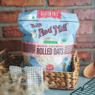 Bob's Red Mill, Gluten Free Organic Quick Cooking Rolled Oats 794g