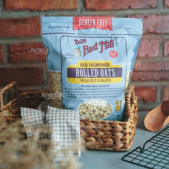 Bob's Red Mill, Gluten Free, Old Fashioned Rolled Oats (907 g)