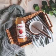 Vinega, Apple Vinegar (cuka apel alami) with the mother 500g