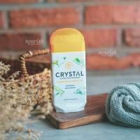 Crystal Body Deodorant, Invisible Solid Deodorant, Chamomile & Green Tea (70 g)
