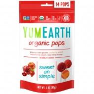YumEarth, Organic Pops, 14 Lollipops (85 g)