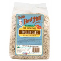 Bob's Red Mill, Organic Old Fashioned Rolled Oats, 32 oz (907 g)