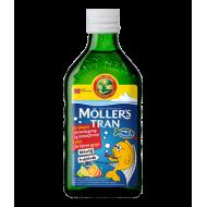 Moller's Trans Cod Liver Oil, Tutti Fruiti flavor 250 ml