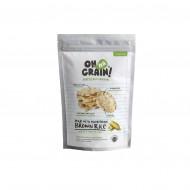 Oh Ma Grain, Organic Brown Rice Cakes Roasted Corn 45 gr