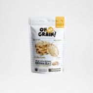 Oh Ma Grain, Organic Brown Rice Cakes Onion Chicken 45 gr