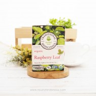 Traditional Medicinals Herbal Tea Organic Raspberry Leaf -- 16 Tea Bags