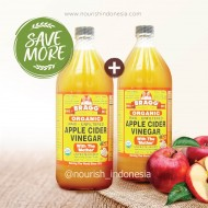 Bragg, Organic Apple Cider Vinegar (ACV / Cuka Apel) 946ml for 2pc