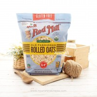 Bob's Red Mill Gluten Free Organic Old Fashioned Rolled Oats 907 gr