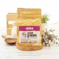 Hibo, Organic Coffee Bean (Biji Kopi Organik) Dark French 100gr