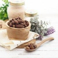 Almond Panggang Rasa Coklat (Roasted Almond Choco) 1kg