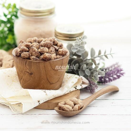 Almond Panggang Rasa Madu (Roasted Almond Honey) 500gr