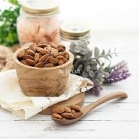 Almond Panggang Rasa Garam Laut(Roasted Almond Seasalt) 100gr