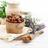 Almond Panggang Rasa Pedas (Roasted Almond Spicy) 100gr