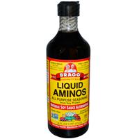 Bragg, Liquid Aminos, All Purpose Seasoning, Natural Soy Sauce Alternative (473ml)