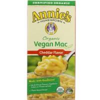 Annie's Homegrown, Organic Vegan Mac, Cheddar Flavor (170 g)