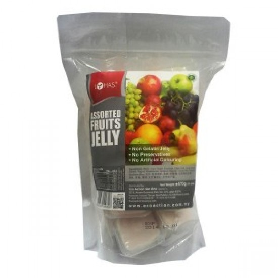 Lohas, Assorted Fruits Jelly (570gr)