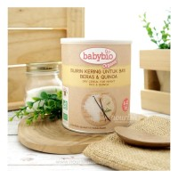 Babybio Organic Vanilla cereals - from 6 months 220g