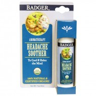 Badger Company, Headache Soother, Peppermint & Lavender (17 g)