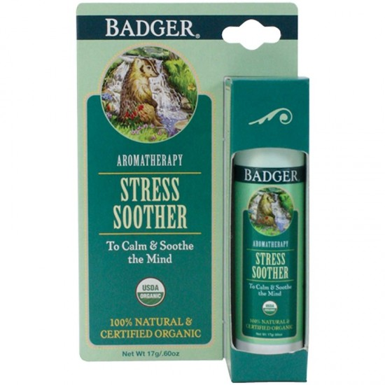 Badger Company, Stress Soother, Tangerine & Rosemary (17 g)