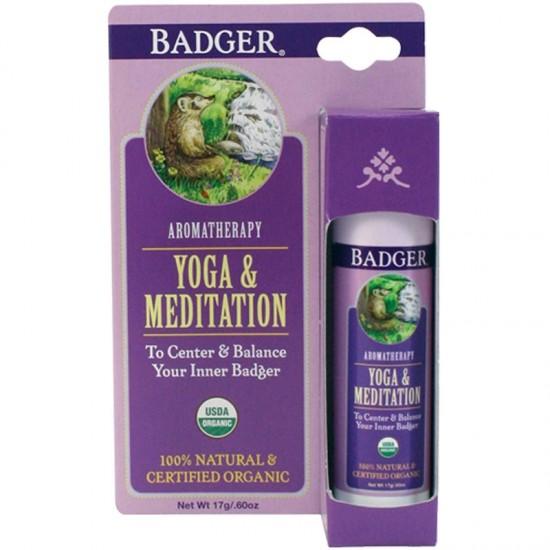 Badger Company, Yoga & Meditation, Cedarwood & Mandarin (17 g)