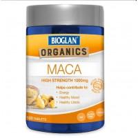 Bioglan Organics Maca High Strength 1000mg isi 100 tablet