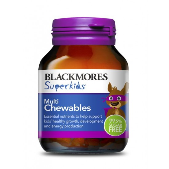 Blackmores Superkids Multi Chewables isi 60 pcs