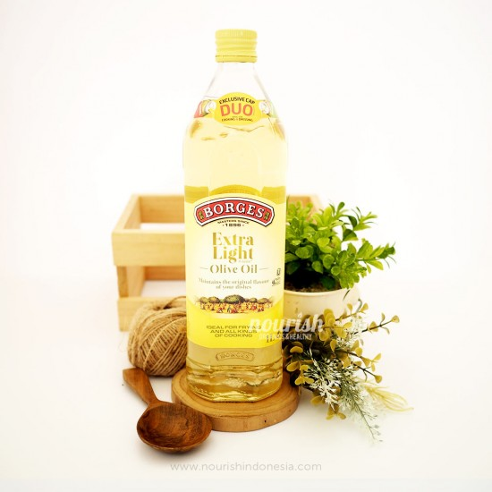 Borges Extra Light Olive Oil - 1000 ml