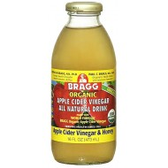 Bragg Organic Apple Cider Vinegar Drink Honey -- 16 fl oz (473 ml)