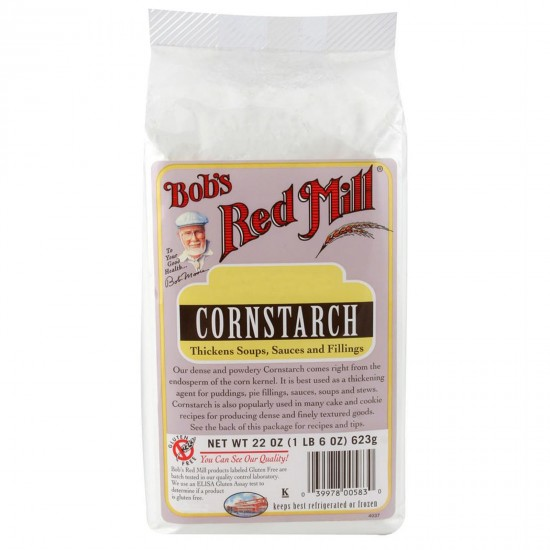 Bob's Red Mill, Cornstarch, All Natural, 22 oz (623 g)