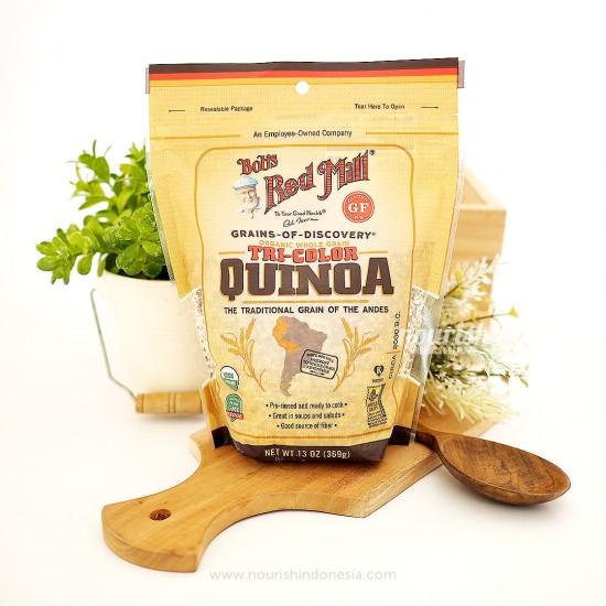Bob's Red Mill, Organic Whole Grain Tri-Color Quinoa 369 gr