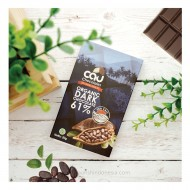 Cau Chocolate, Organic Dark Chocolate 61% Sea salt 50gr