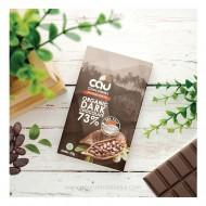 Cau Chocolate, Organic Dark Chocolate 73% Sea salt 50gr