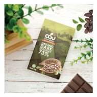 Cau Chocolate, Organic Dark Chocolate 73% 50gr