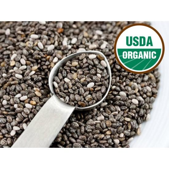 Organic Black Chia Seed 500 gr