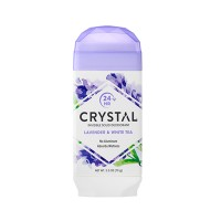 Crystal Body Deodorant, Natural Deodorant, Lavender & White Tea (70 g)