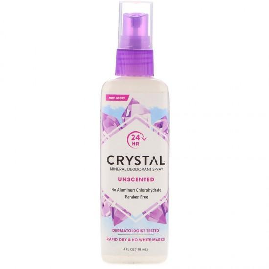 Crystal Body Deodorant, Crystal Body Deodorant Spray, 4 fl oz (118 ml)