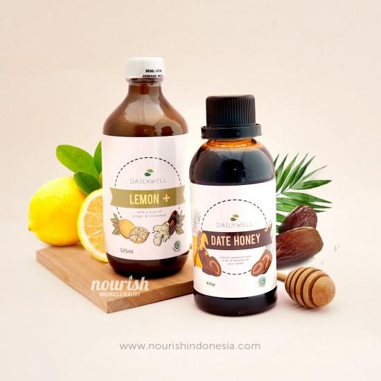 Paket Hemat Dailywell Lemon+ dan Date Honey