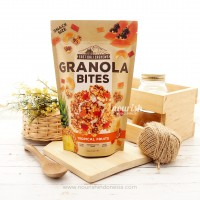 East Bali Cashew, Granola Bites Tropical Fruits (125gr)