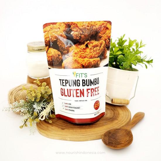 Fits Mandiri, Tepung Bumbu Ayam Goreng Gluten Free NON MSG