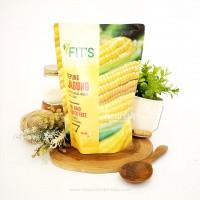 Fits Mandiri, Tepung Jagung (polenta) Non GMO 500gr