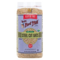 Bob's Red Mill Gluten Free Organic Steel Cut Oats 680 gr