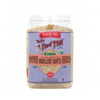 Bob's Red Mill, Gluten Free Organic Quick Cooking Rolled Oats 907g
