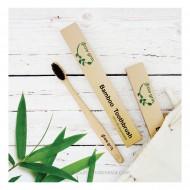 Grow grin, Bamboo Charcoal Tooth Brush / Sikat Gigi Ramah Lingkungan