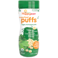 Happy Baby Organic Superfood Puffs, Kale & Spinach