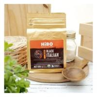Hibo, Organic Coffee Bean (Biji Kopi Organik) Black Italian 100gr