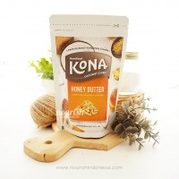 Barefood Kona Coconut Chips Honey Butter 45gr