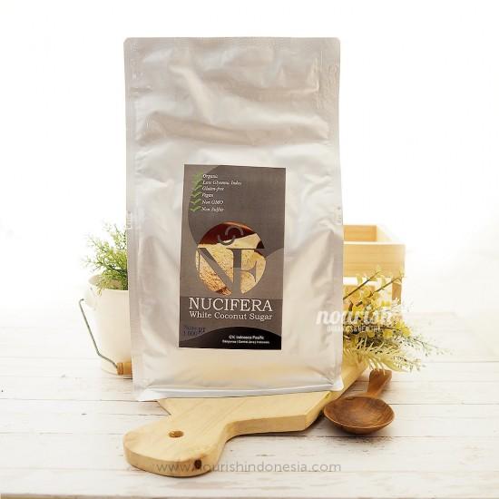 Nucifera, Organic White Coconut Sugar 1kg
