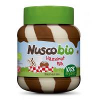 Nuscobio, Organic Hazelnut & Milk Chocolate Spread 400g